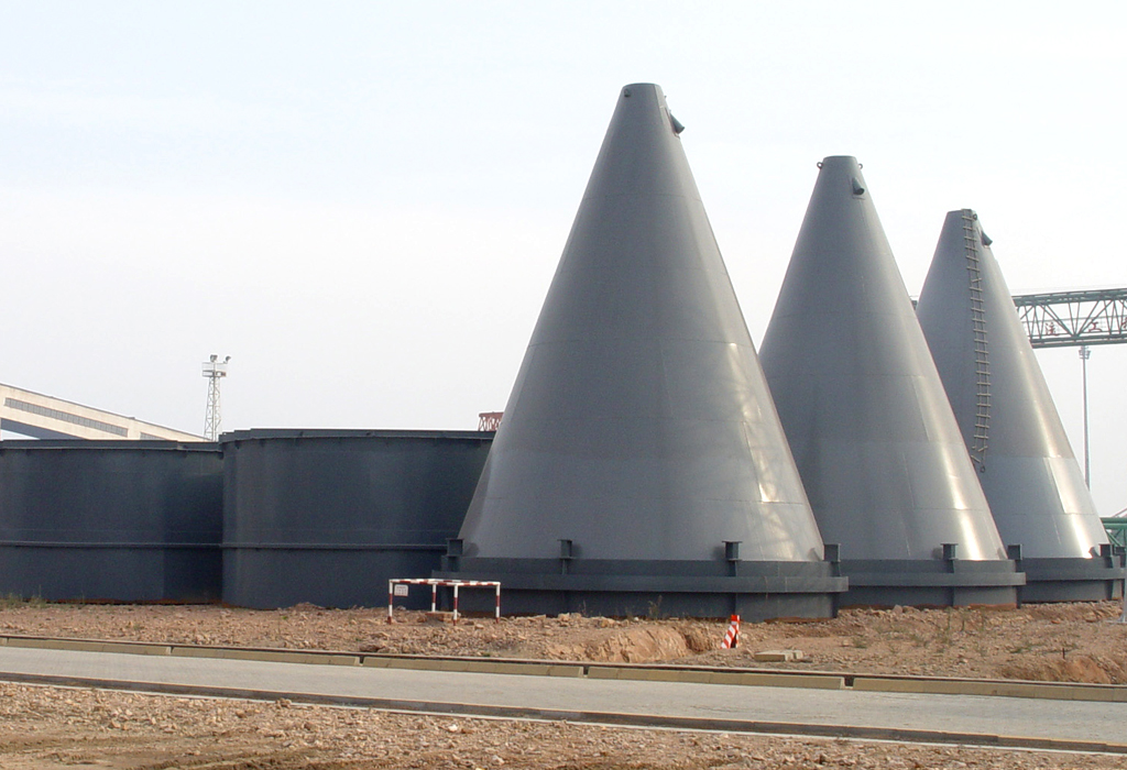 Huangdao power plant steel coal scuttle