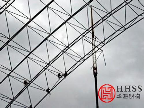 大跨度钢网架结构工程施工要点