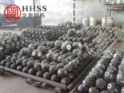 江苏华海钢结构浅述钢网架螺栓球性能检测