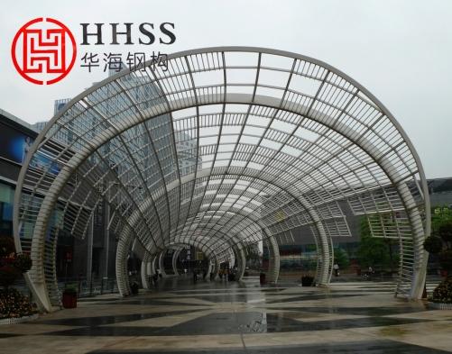 江苏华海网架工程简介钢结构网架支座焊接与验收