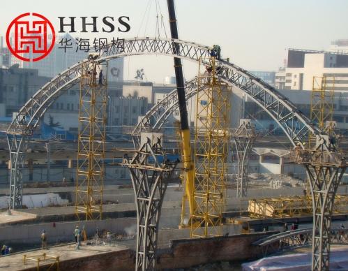华海钢结构有限公司阐述轻钢网架制作和运输的控制