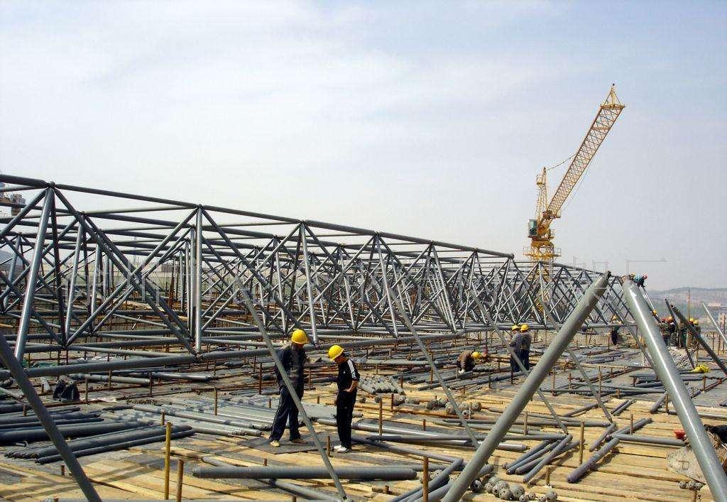 网架结构施工及网架安装前的准备工作