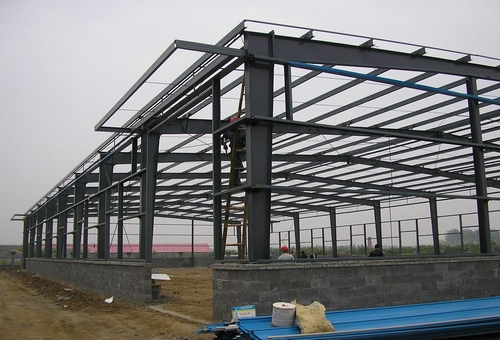 steel structure wokeshop