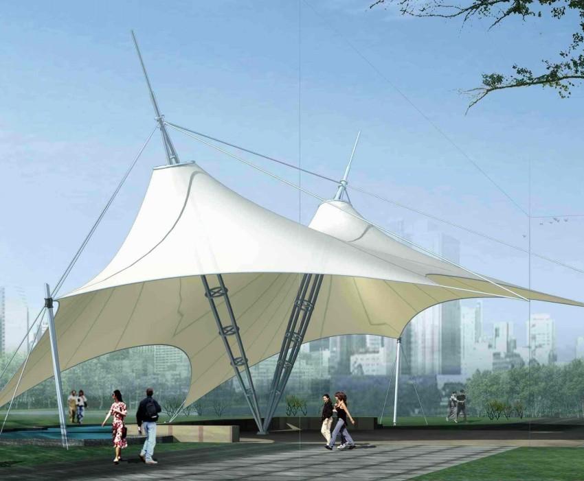 膜结构_江苏华海钢结构网架工程有限公司