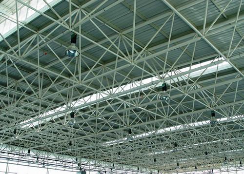 新疆螺栓球节点网架工程-江苏华海钢结构有限公司