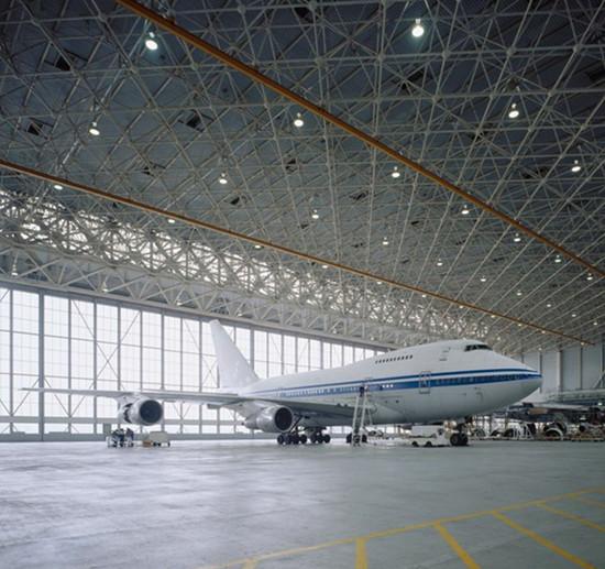 航空机库网架,上海东方航空飞机库网架☆江苏华海钢